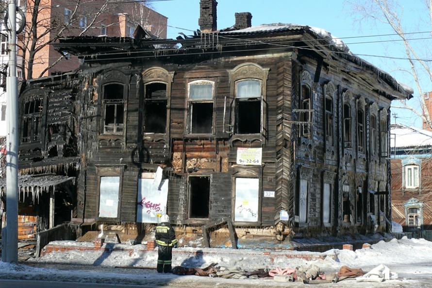 Администрация не справляется с восстановлением исторических домов